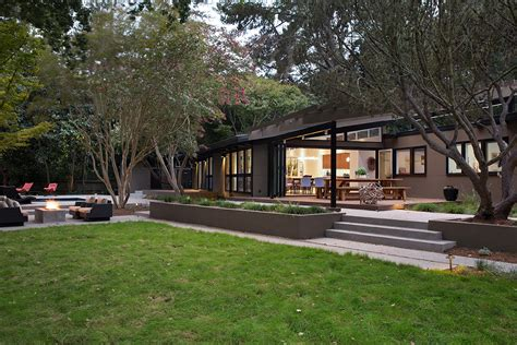 mid century house remodel project by klopf architecture in