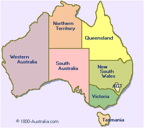 map of countries in australia map of australia 1800 australia