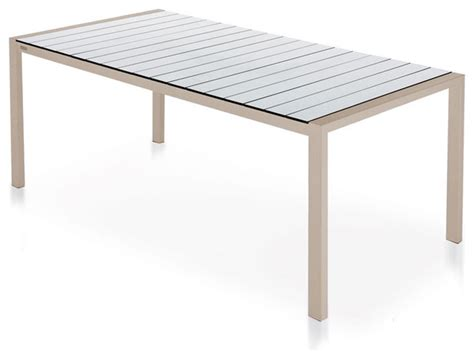 modern outdoor dining tables harbour outdoor piano dining table modern outdoor