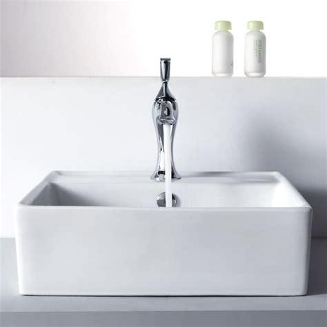 kraus ckcv15015001ch 18 35 inch square ceramic sink with