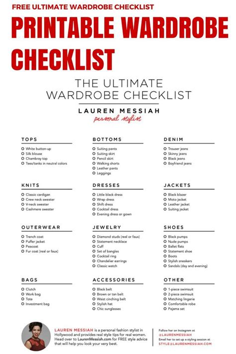 Capsule Wardrobe Checklist by 51 Best Images About Capsule Ideas On