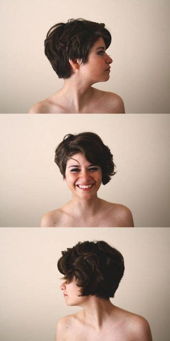 which haircut shall i get 25 best wavy pixie cut ideas on wavy pixie
