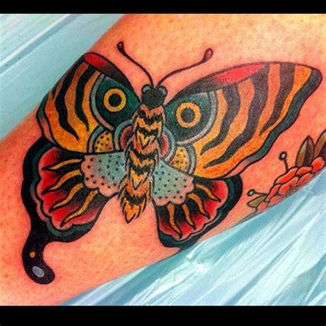 Arm Old School Butterfly Tattoo By Ten Ten Tattoo School Butterfly Tattoos