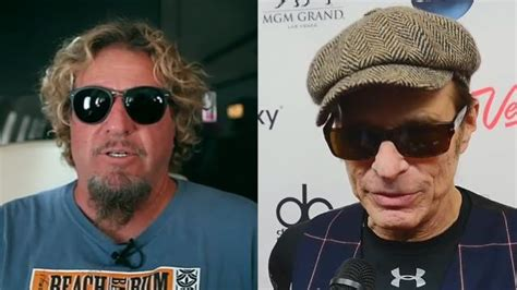 eddie van halen vs joe satriani sammy hagar fires back at david lee roth over credibility