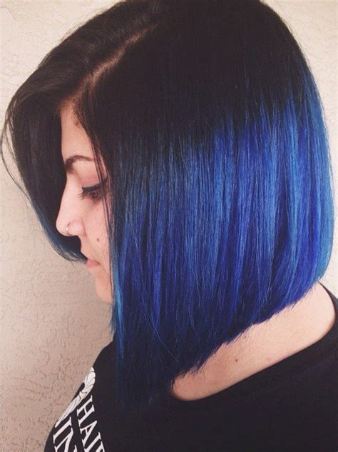 Black And Blue Hairstyles by Blue Black Hair Tips And Styles Blue Hair Dye Styles