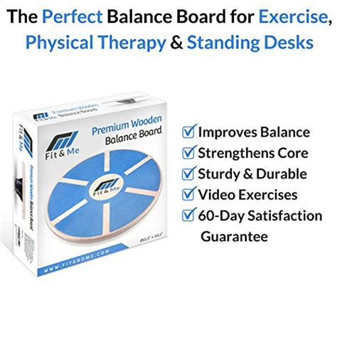 better balance therapy fit me wooden wobble balance board exercises