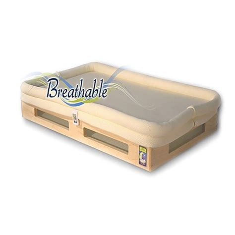 Breathable Crib Mattress Secure Beginnings Mini Breathable Crib Mattress In Ivory Bed Bath Beyond