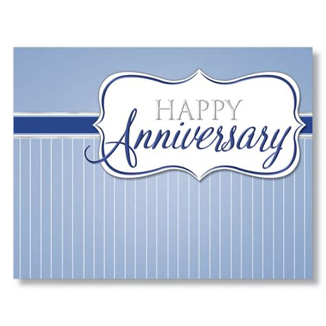 happy work anniversary card template classic workplace anniversary cards for employees