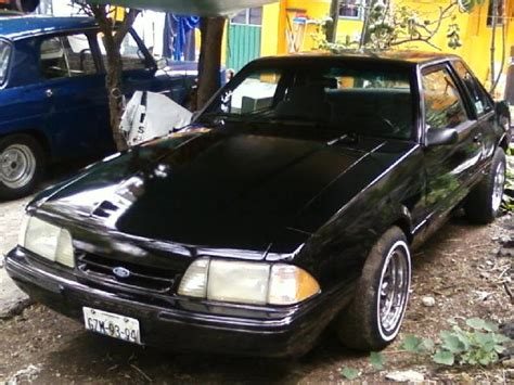 Autos Mustang 4 Cilindros by Mustang 1993 4 Cilindros En Coyoac 225 N