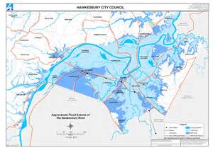 flood maps flood extent maps hawkesbury city council