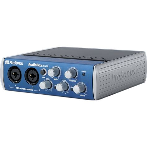 Audiobox Usb presonus audiobox 22vsl usb 2 0 recording audiobox 22 vsl b h