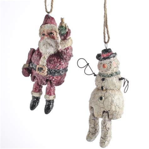 whimsical folk art christmas ornament christmas