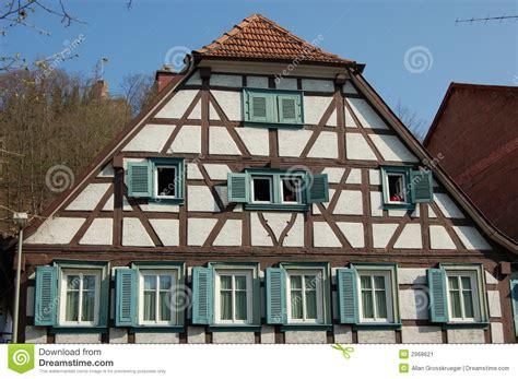 casa alemana casa alemana de la madera imagen de archivo imagen de
