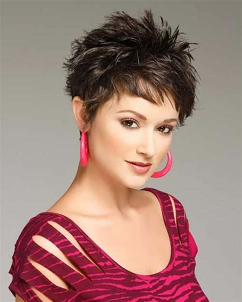 short spiky hairstyles for older women short haircuts 20