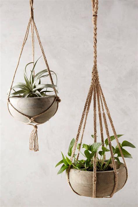 decorative hanging planters anthropologie s new arrivals home decor planters