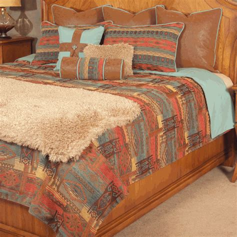 western bedding sets queen western bedding queen size sedona coverlet set lone star