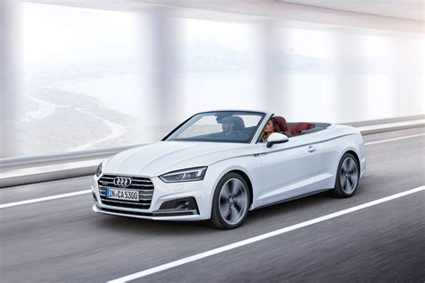 Cabriolet Audi by New Audi A5 Cabriolet 2017 Official Pictures Auto Express