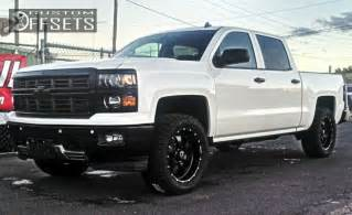 2014 Chevy Truck Custom Wheels Wheel Offset 2014 Chevrolet Silverado 1500 Slightly