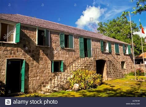 houses to buy in hamilton nevis alexander hamilton house birthplace charlestown island of stock photo