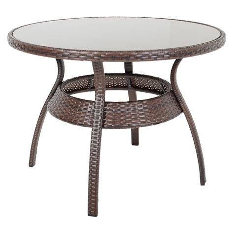 Rattan Garden Furniture Dining Table And 4 Chairs Dining Set Outdoor Patio Ravenna Dining Table 4 Chairs Brown Rattan Wicker