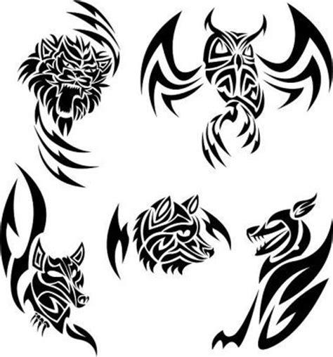 tribal pattern animals tribal animal tattoo pics designs витинанки pinterest