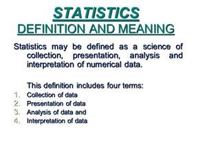 statistics for data science leverage the power of statistics for data analysis classification regression machine learning and neural networks books statistics definition and meaning ppt