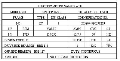 3 phase induction motor nameplate details 3 phase induction motor nameplate details 28 images 19 essential information you can find on