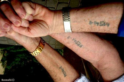 holocaust survivors tattoos concentration c tattoos memorial