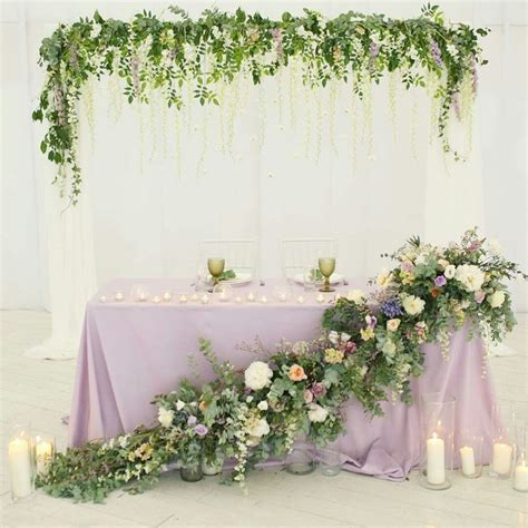 221 best images about Sweetheart table on Pinterest