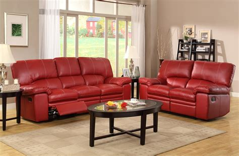Red Sofa Recliner by Red Leather Sofa Recliner Red Leather Sectional Sofa