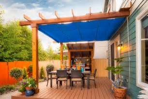 Retractable Patio Canopy Retractable Patio Cover In Vancouver Shadefx Canopies
