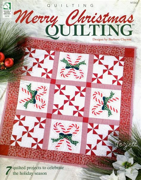 merry christmas quilting  quilted projects sewing patterns ebay
