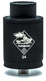 Built X Black Market La 24 Rda Atomizer Silver Best Clone flawless tugboat 24 rda review e juice