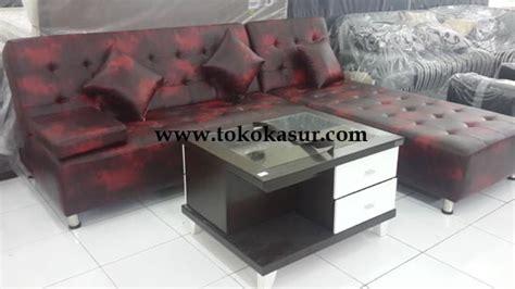 Kursi Sudut Jati 200 250 kursi tamu sofa murah bangku tamu meubel mebel
