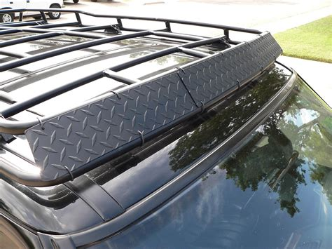 Rack Roof p38 oem roof rack wind deflector