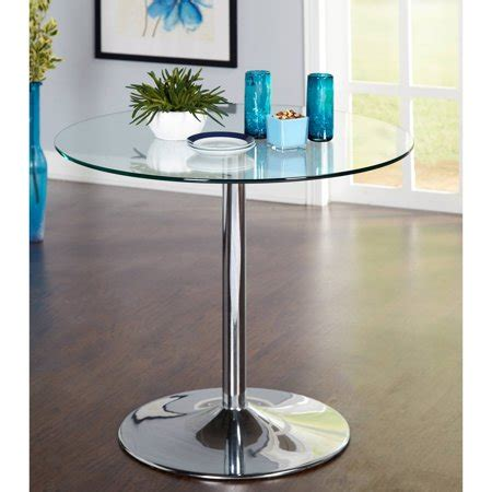 walmart glass dining table pisa tempered glass dining table walmart com
