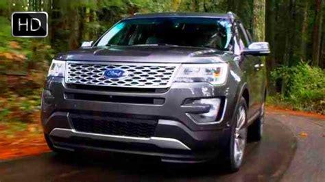 2016 ford explorer suv 3 5 liter ecoboost v6 facelift