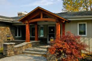 Houses With Finished Basements exterior renovations porches porch columns