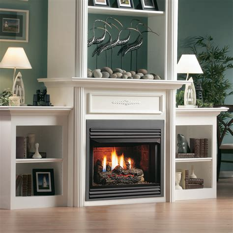 gas fireplace how to kingsman zero clearance vent free gas fireplace 33 inch
