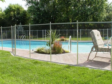 steel  iron pool fencing  ground   ground pool fence design