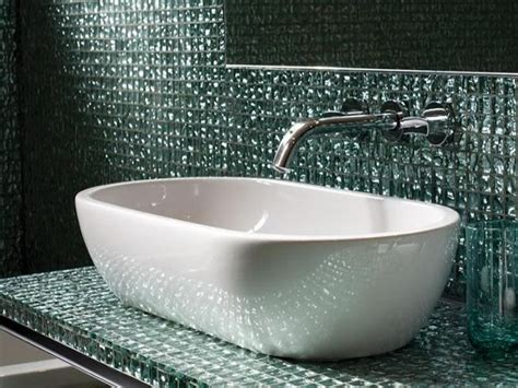 Glass Tile For Bathrooms Ideas by Bathroom Remodeling Glass Tile For Bathrooms Ideas