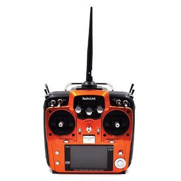 Promo Remot Receiver Orange Hitam radiolink at10ii 2 4g 10ch transmitter with r10dii