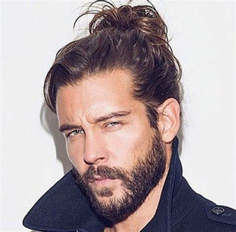 clip on top knot for men 35 new hairstyles for men in 2018