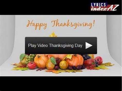 Thanksgiving After Effects Template Get Thanksgiving Day After Effects Project Files Video Templates Youtube