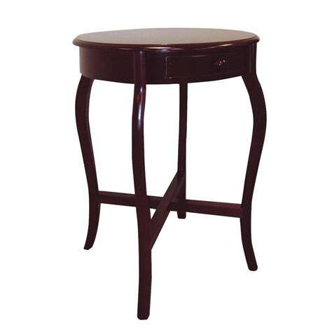 home decorators collection cherry storage end table h 38