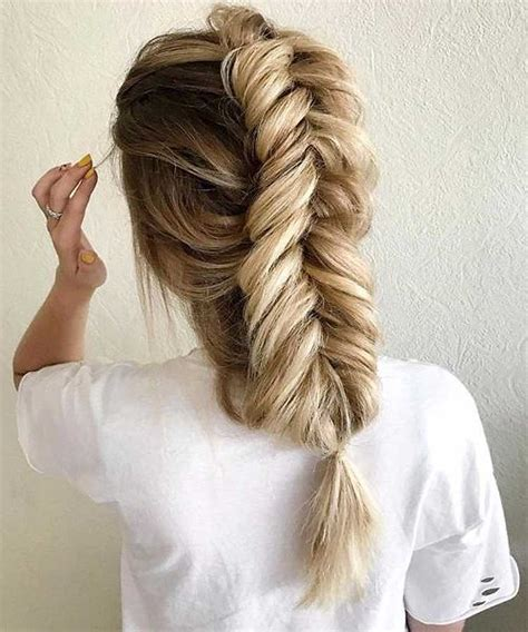 fishtail braid hair gallery the fishtail plait a step by step guide and all the braid