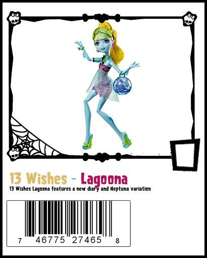 monster high 13 wishes lagoona 1000 images about monster high 13 wishes on pinterest
