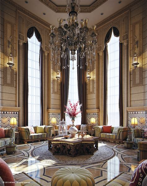 Moroccan Majlis Interior Design by Regal Interiors