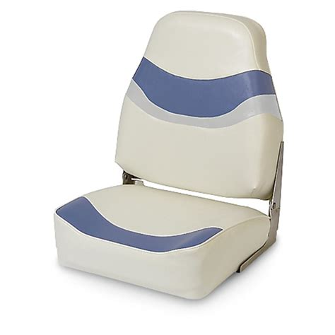light blue boat seats deluxe high back boat seat 196164 fold