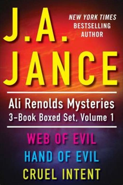 cruel cozy corgi mysteries books j a jance s ali mysteries 3 book boxed set